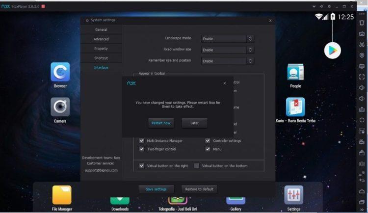 Cara install NOx App Player di Komputer