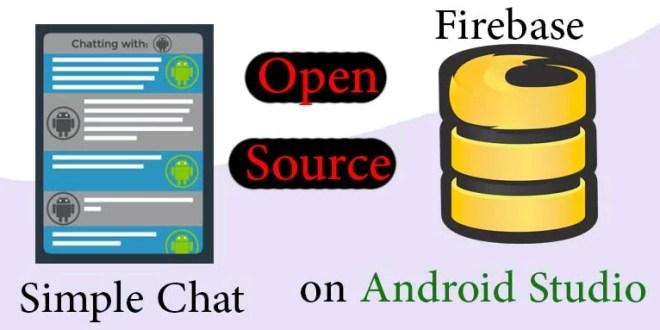 1031ee3a3 برمجة وتطوير تطبيق تشات اندرويد على منصة فايربيس Firebase ...