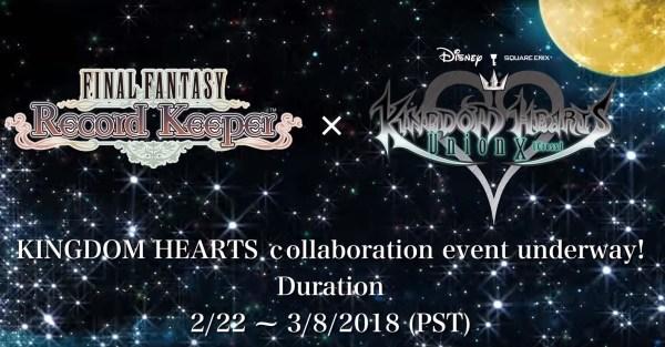 KINGDOM HEARTS Union χ[Cross] AND FINAL FANTASY RECORD KEEPER