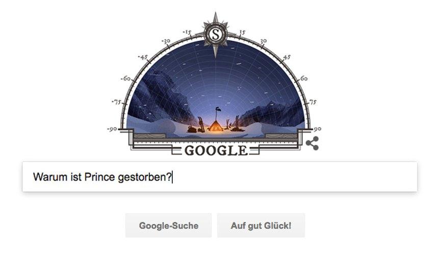 Google Suche 2016