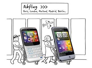 HTC Flugaktion