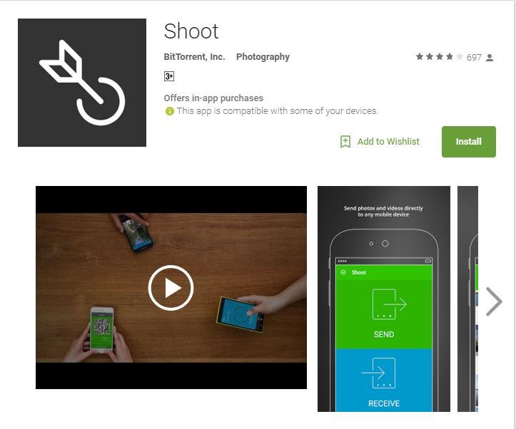 BitTorrent Shoot - ТОП 10 лучших приложений для Android