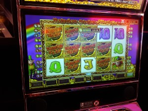 Rainbow Riches Fruit Machine Big Win