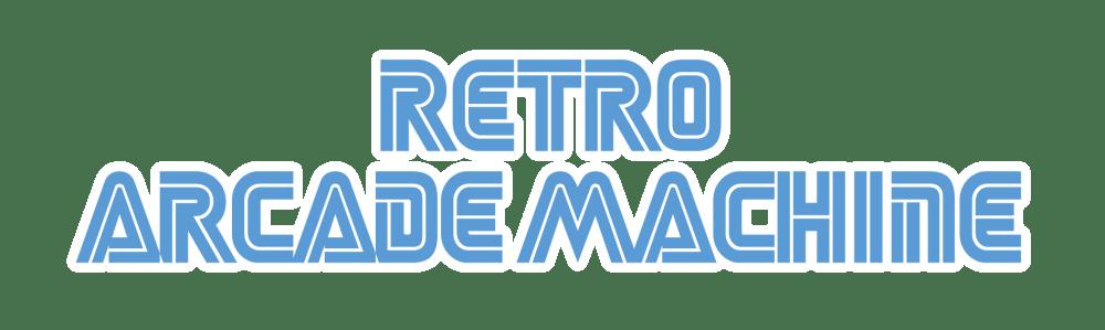 Retro Arcade Machine Logo