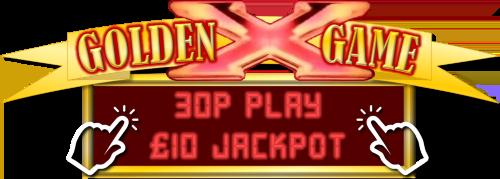 Golden Game 30p Play £10 Jackpot