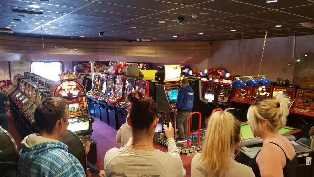 Roxy Amusements Dance Machine Retro Arcade Machine