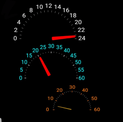 Car Speedo Smart Watch Face