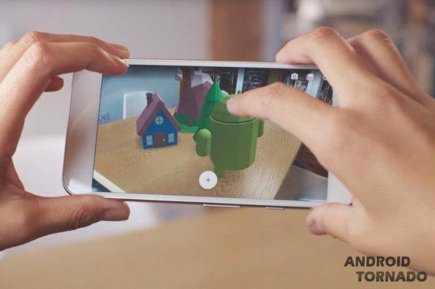 Запущена платформа дополненной реальности Google ARCore