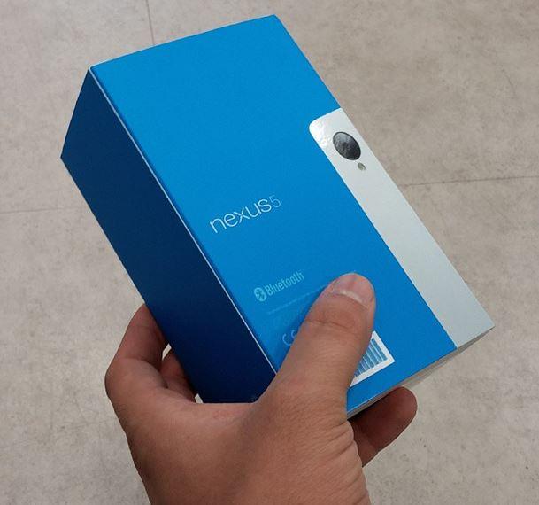nexus 5 box