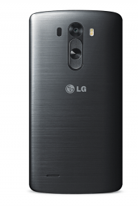 Le smartphone LG G3 : Vue de dos