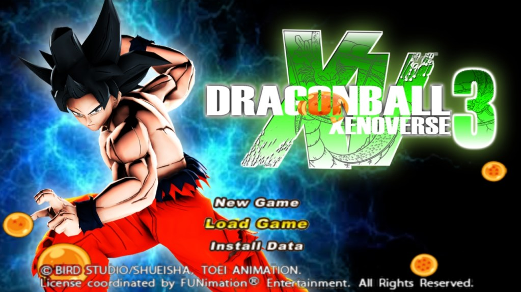 Dragon Ball Xenoverse 3 + Menu iSO PPSSPP Download