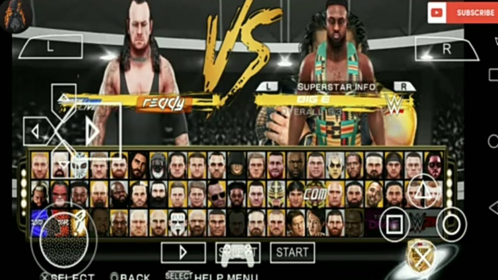 WWE 2k19 PPSSPP Download 200mb