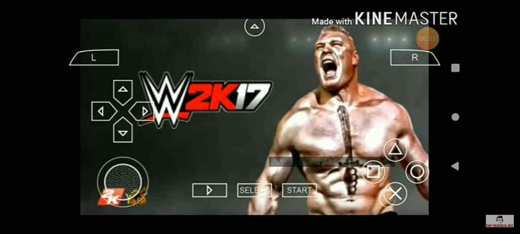 WWE 2k17 ppsspp 200mb