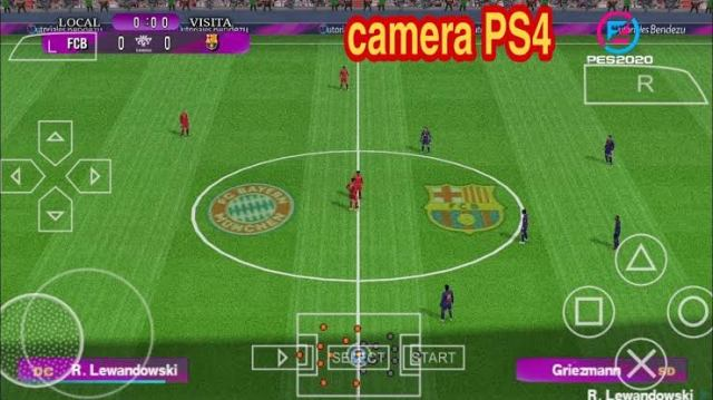 Pes 2020 psp iso PS4 camera 300mb
