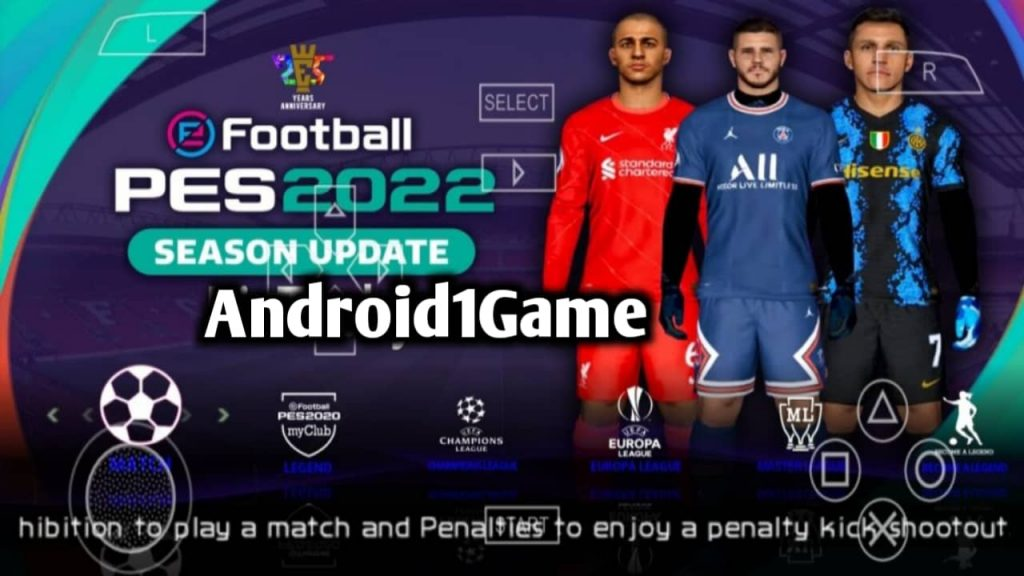 Pes 2022 PPSSPP Download PS5 Camera File Android