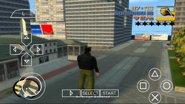 GTA 3 PPSSPP ISO Zip Download Android