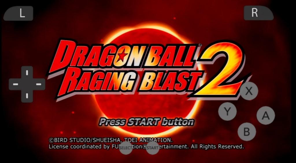 Dragon Ball Raging Blast 2 Apk & IOS Download