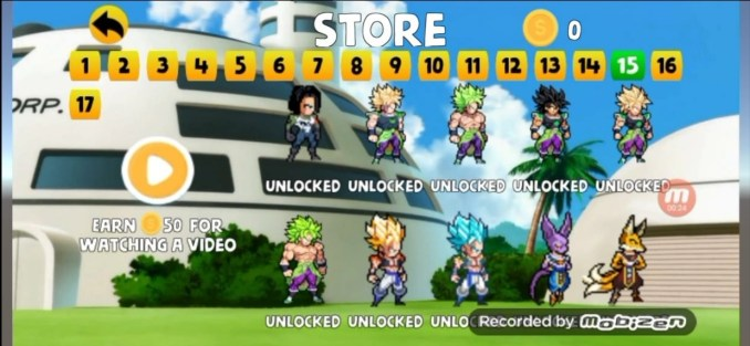 Power Warriors 12.0 Mod Apk With Unlimited Coins