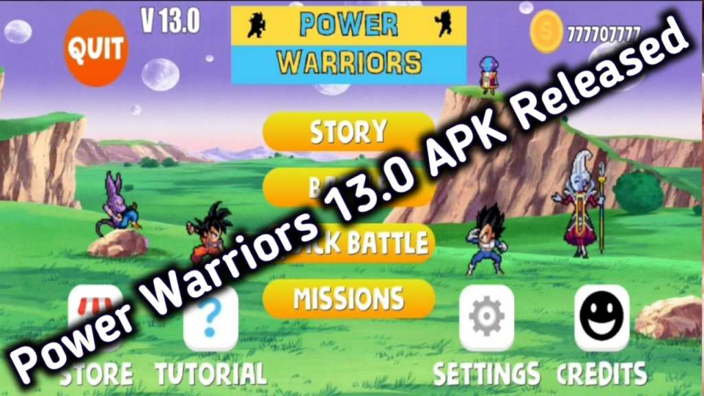 Power Warriors 13.0 Mod Apk Download
