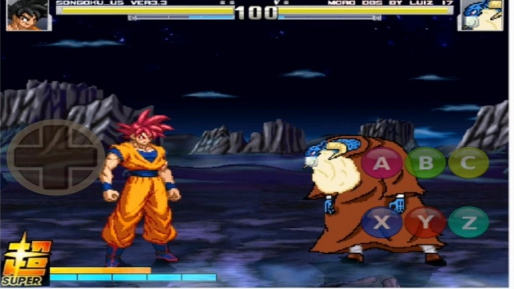 Dragon Ball Super Mugen Game