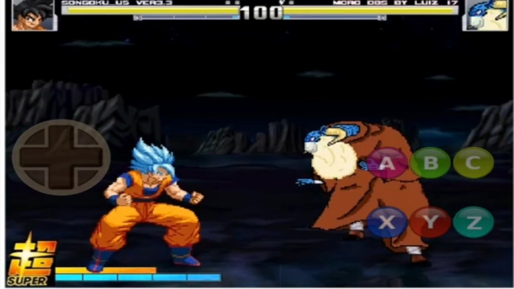 Dragon Ball Super Beta V1.1 Mugen Apk Download