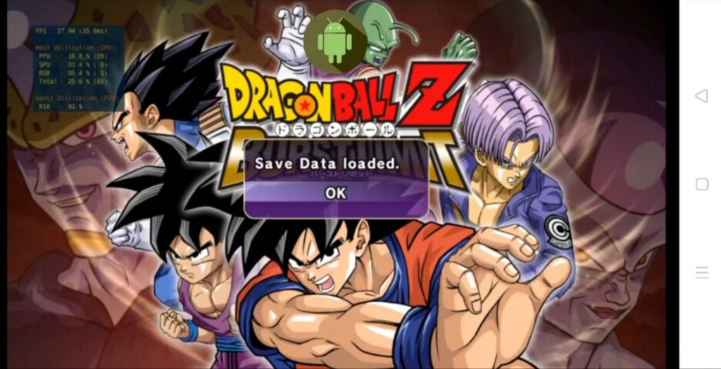 Dragon Ball Z Burst Limit Android & iOS Download