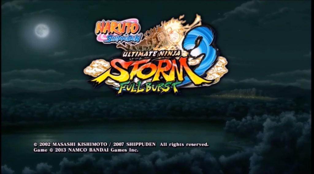 Naruto Ultimate Ninja Storm 3 PSP ISO Download