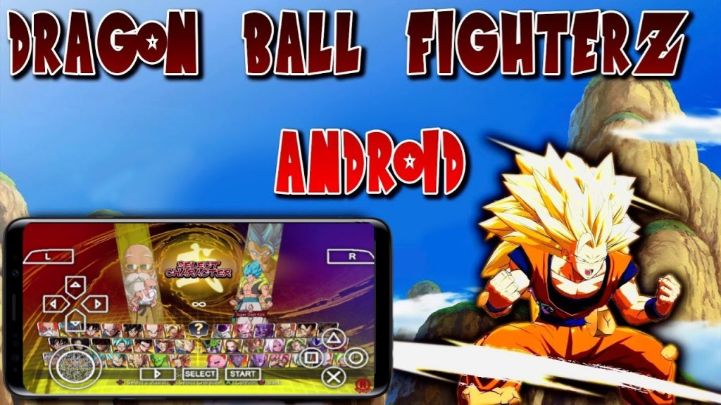 Dragon Ball FighterZ PPSSPP ISO Download