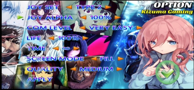 New Anime Mugen Apk