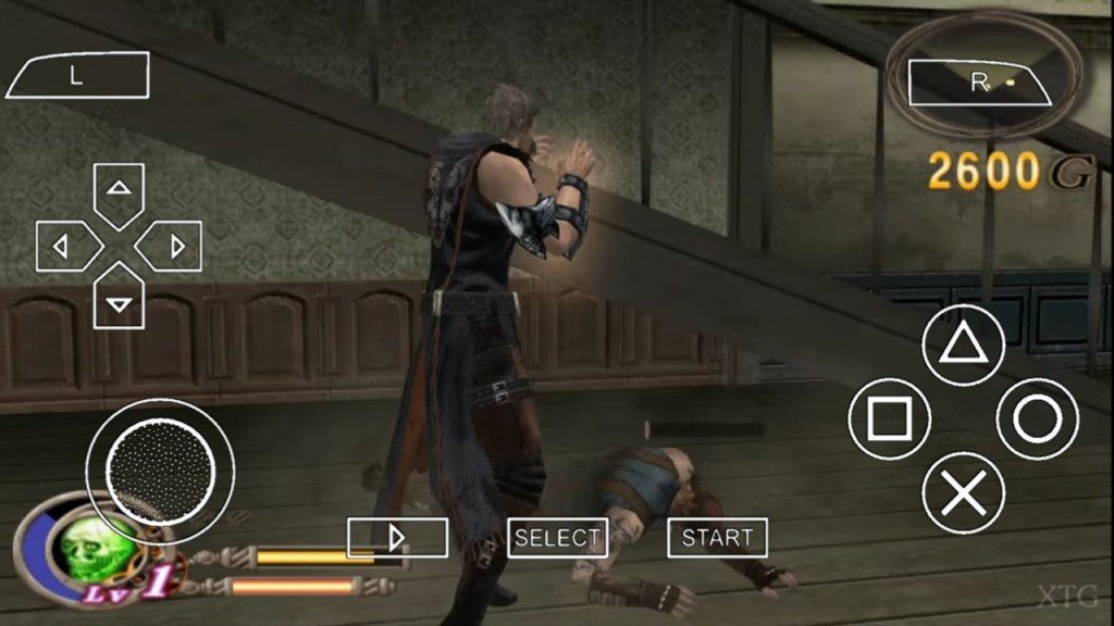 God Hand For PPSSPP ISO Download Android