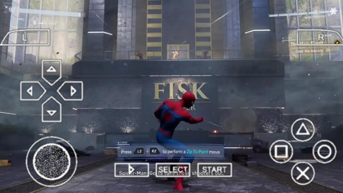 Marvel Spider Man PPSSPP