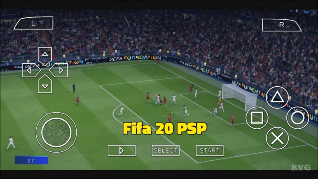Fifa 20 PPSSPP ISO Zip File Download For Android