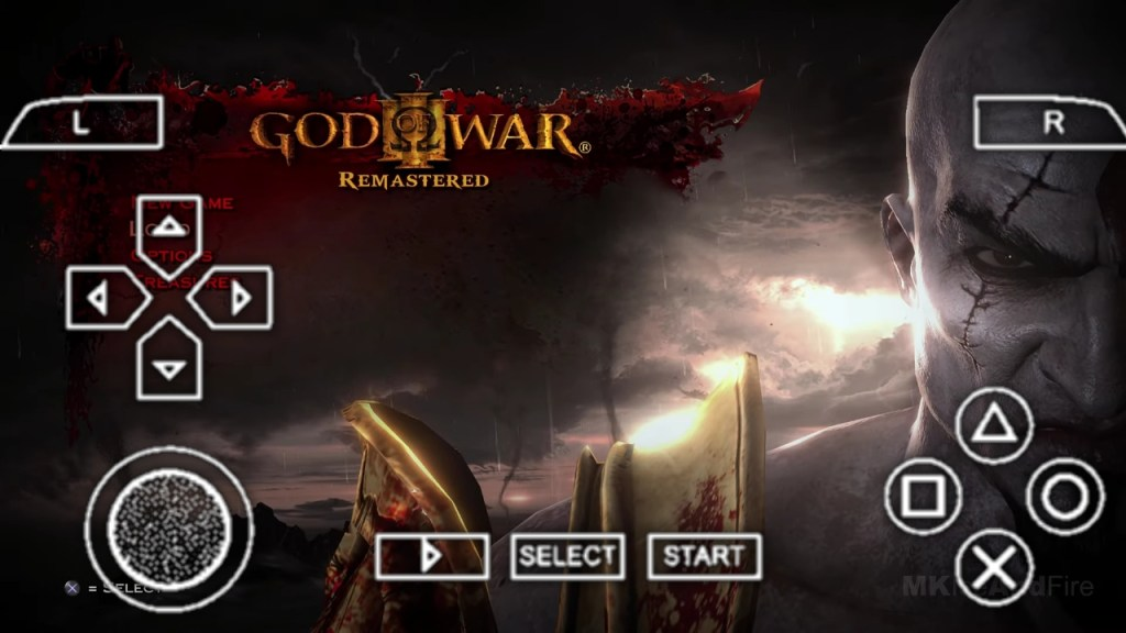 God of War 3 PPSSPP ISO File Download For Android