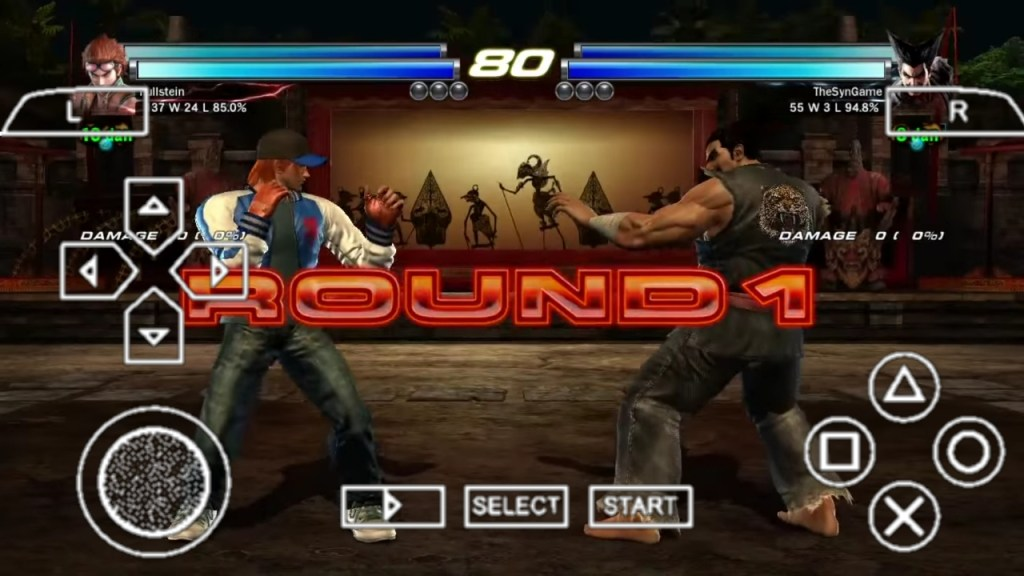Tekken Tag Tournament 2 PPSSPP