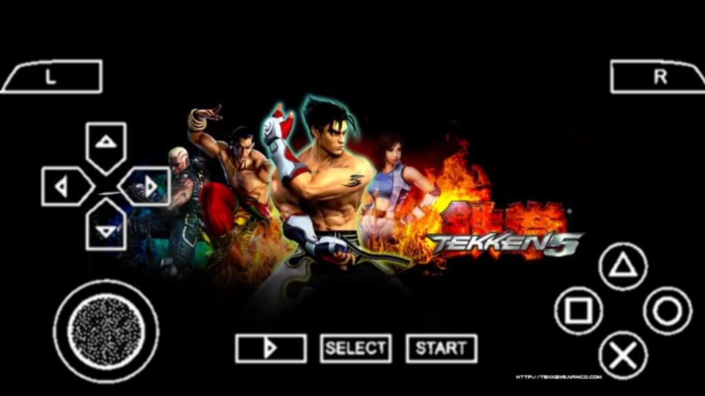Tekken 5 PPSSPP ISO File Download For Android