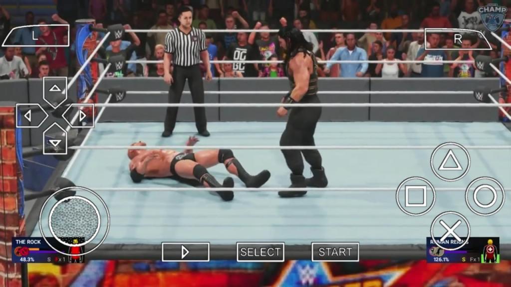 WWE 2K19 PPSSPP