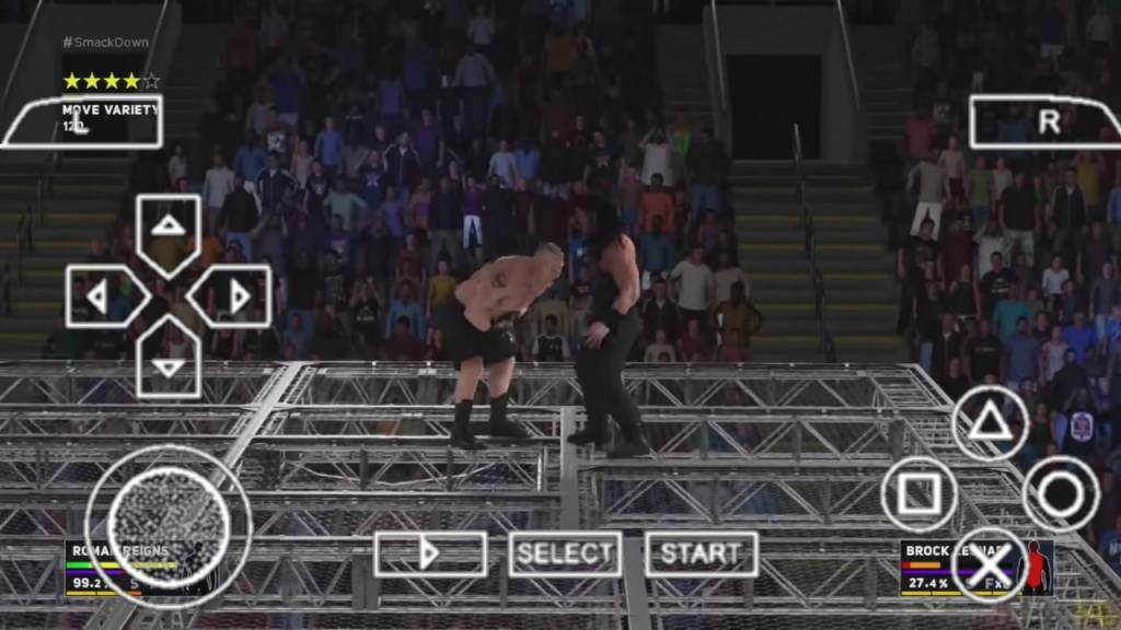 WWE 2K18 PPSSPP ISO
