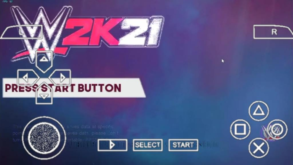 WWE 2K21 PPSSPP Zip ISO File Download For Android