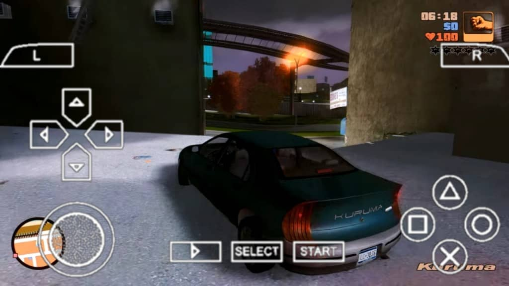 Gta 3 PPSSPP Zip File Android Download Game