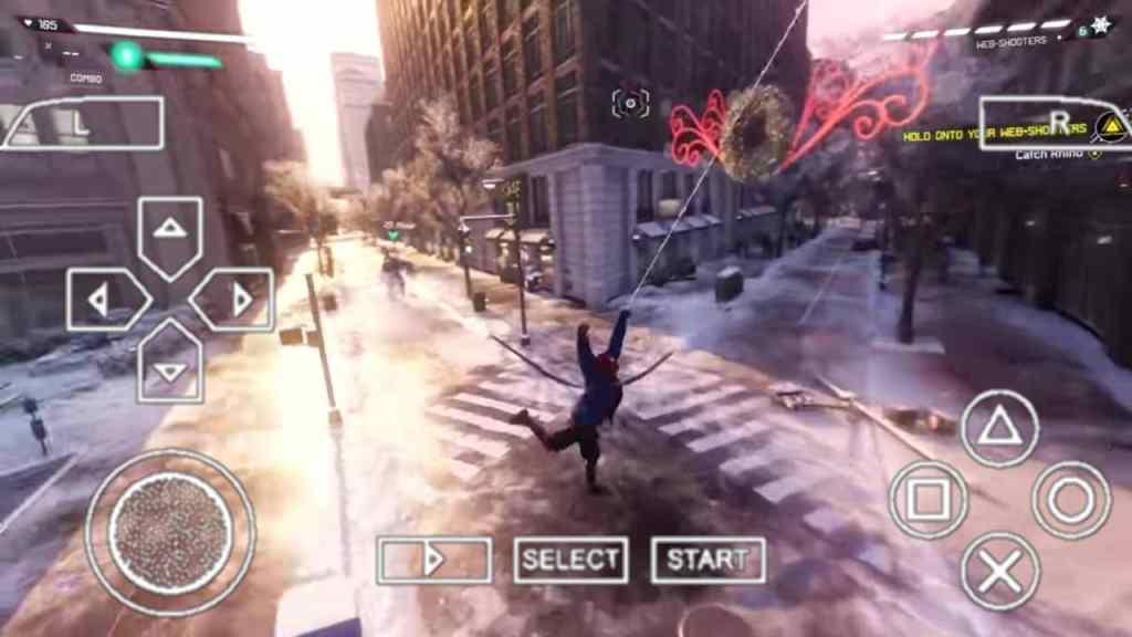 Spider Man Miles Morales PPSSPP