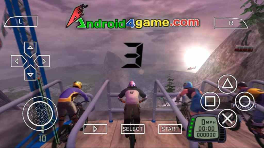 Downhill Domination PPSSPP