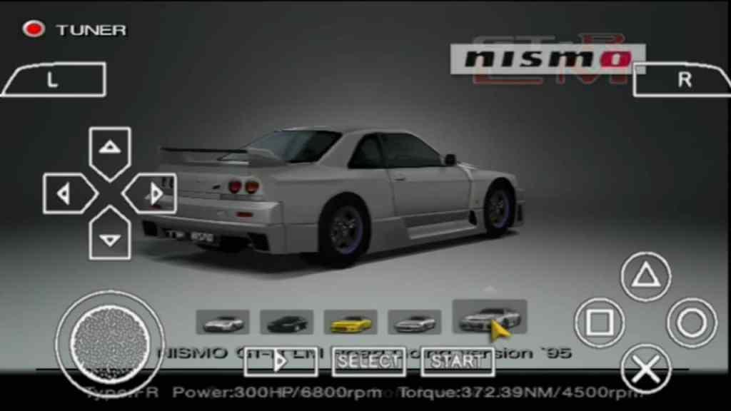 Gran Turismo 4 PPSSPP