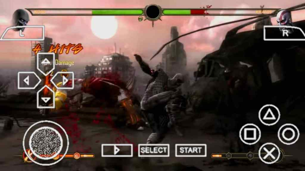 Mortal Kombat 9 PPSSPP
