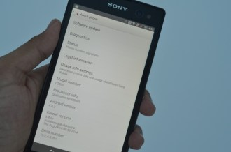 Sony Xperia C3 About phone