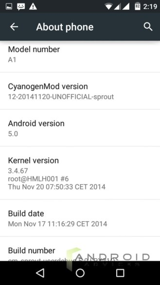 android 5.0 spice dream uno 3