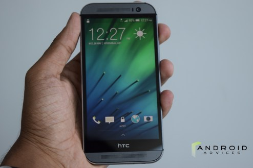 HTC One M8 - Display