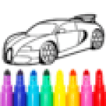 Learn Coloring Drawing Car Games for Kids 9.0 MODs APK