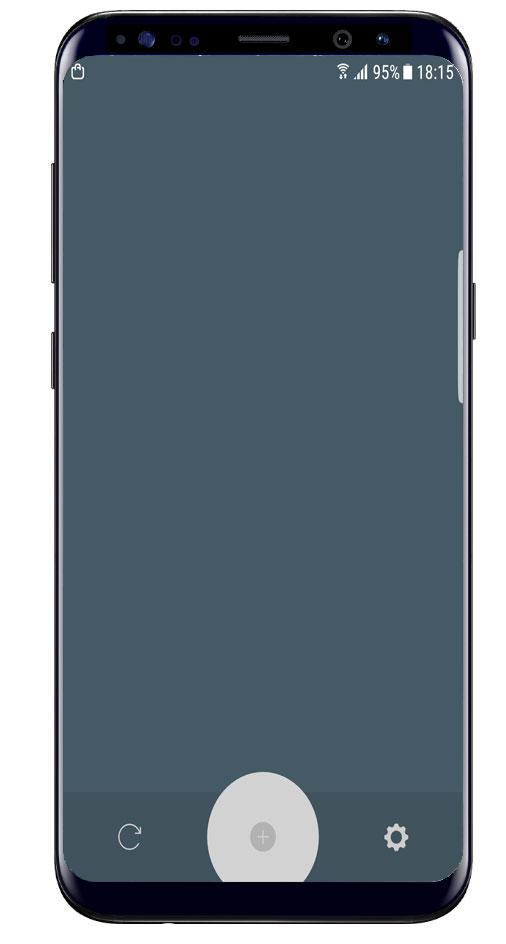 Interfaz de la aplicación Memory Helper
