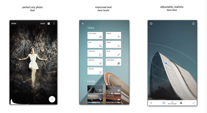 App Snapseed Android Photo Editor Review