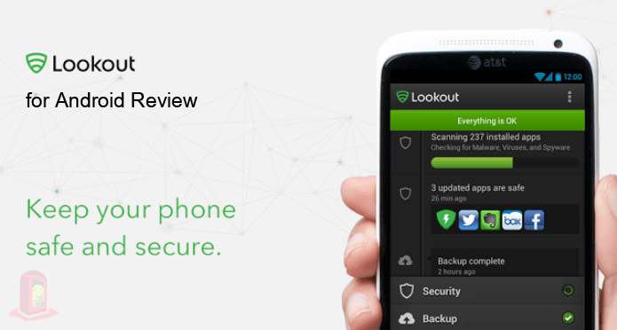 Read Review Lookout Android Security & Antivirus for Android